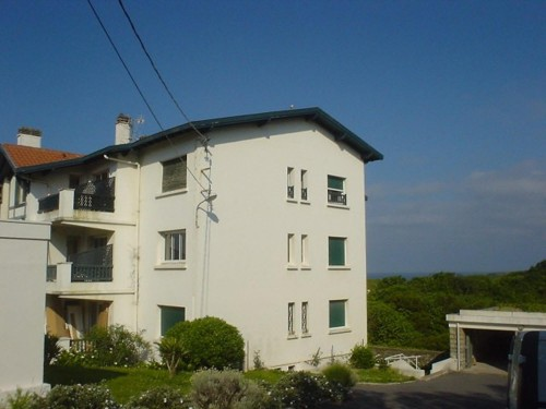 BEL APPARTEMENT AVEC VUE SUR MER en location vacances à ST JEAN DE LUZ (Sainte Barbe)