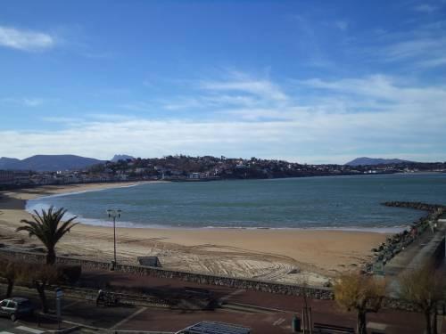 APPARTEMENT FACE MER en location vacances à ST JEAN DE LUZ PLAGE